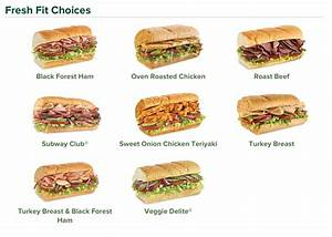 For my fellow subway lovers, healthy subway sandwich ideas ...