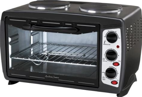 Best Deal Of Andrew James Black 23 Litre Mini Oven And Grill