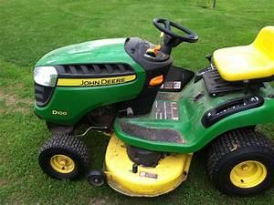 2011 John Deere D100 Lawn  U0026 Garden And Commercial Mowing