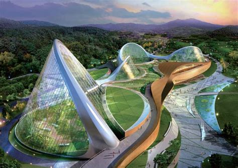 south korea planning giant eco domes   nature