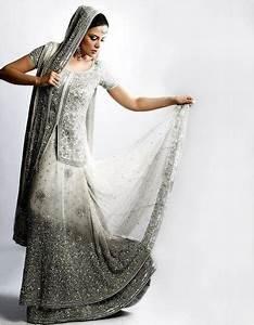 silver white indian wedding dress fashion by soma sengupta With indian white wedding dresses