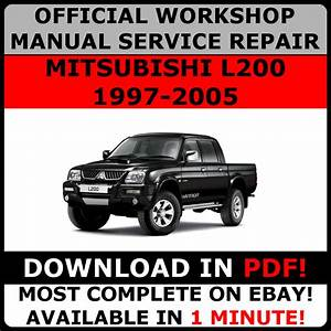 Official Workshop Service Repair Manual For Mitsubishi