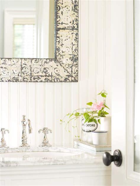 White Beadboard Bathroom  Cottage  Bathroom Bhg
