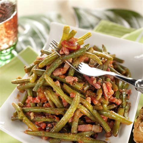 cuisiner les haricots verts frais recette haricots verts provençale cuisson basse température