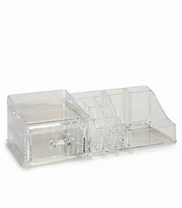 Rangement Maquillage Tiroir : rangement maquillage en acrylique transparent ~ Nature-et-papiers.com Idées de Décoration