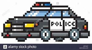 Pixel Art Voiture Facile : illustration vecteur de dessin anim voiture de police conception de pixel vecteurs et ~ Maxctalentgroup.com Avis de Voitures