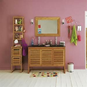 Meuble Sous Vasque Bambou : meuble de salle de bains en bambou 120cm danong meubles sous vasques meubles de salle de ~ Dode.kayakingforconservation.com Idées de Décoration