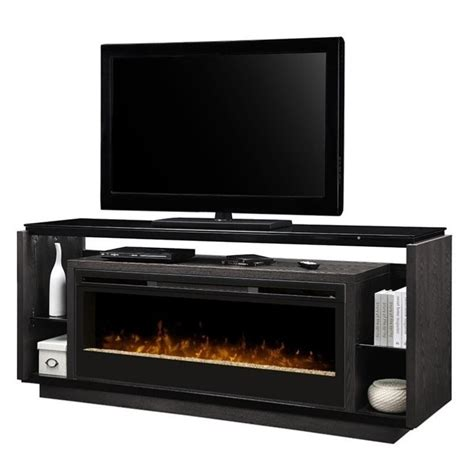 Dining Room Sets At Walmart by Dimplex David Glass Ember Bed Electric Fireplace Tv Stand
