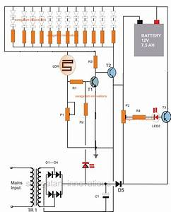 12v Emergency Light Circuit