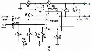 A M Modulator Circuit Diagram
