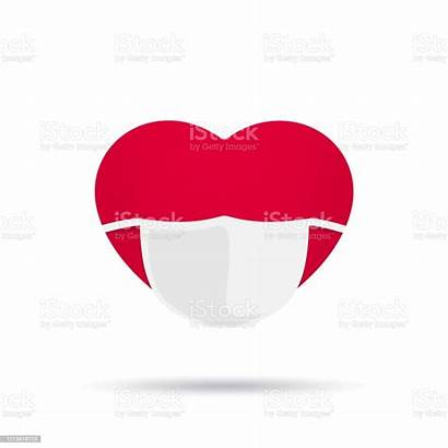 Mask Heart Medical Isolated Cartoon Cold Graphic
