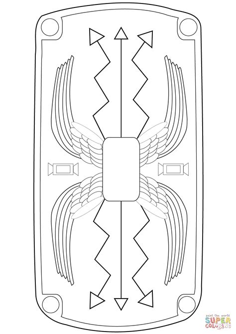 roman coloring pages  print coloring home
