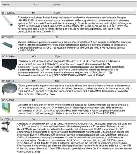 Impianti A Pavimento Prezzi by Impianto A Pavimento Riscaldamento Pannelli Radianti Bi
