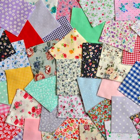 fabric patchwork squares charm pack  craft quilting