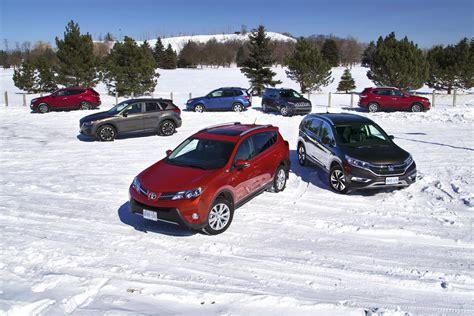 mini suv test comparison test compact crossover suvs autos ca
