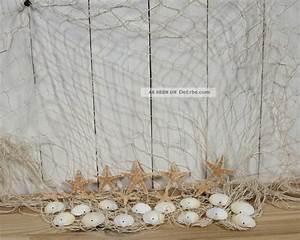 Fischernetz Mit Muscheln : fischernetz 1x2m beige mit 10 seesternen und 15 muscheln f r die maritime deko ~ Sanjose-hotels-ca.com Haus und Dekorationen