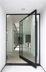 Modern Exterior Doors with Glass