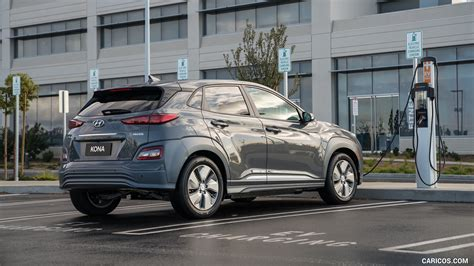 Hyundai Kona 2019 Wallpapers by 2019 Hyundai Kona Electric Rear Three Quarter Hd