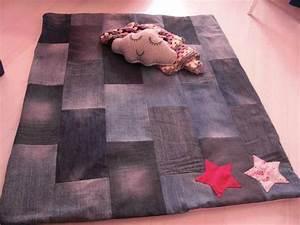 recycler des vieux jeans en tapis de jeu couture autres With tapis en jean