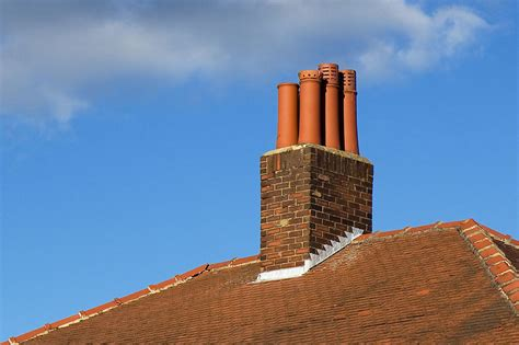 Chimney  Free Stock Photo  A Chimney On The Roof Of A
