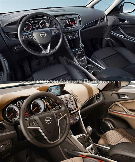 Opel Zafira Interior by 2017 Opel Zafira Vs 2011 Opel Zafira Interior