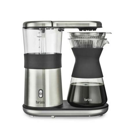 Bodum vacuum siphon coffee maker slow brew 8 cup. Brim 8-Cup Electric Pour Over Coffee Maker - Stainless Steel for sale online   eBay