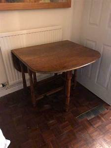 Fold, Out, Wooden, Dining, Table