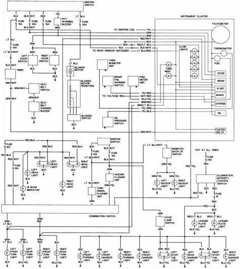 2600 Mazda Fuse Box Location by 1993 Mazda B2600i Wiring Diagram Wiring Diagram And Fuse Box