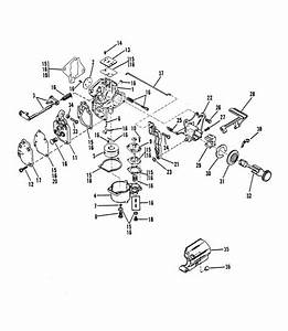 Mercury Marine 15 Hp Carburetor Assembly  15  Parts