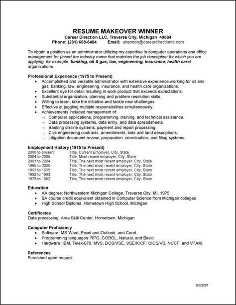 high resumes with no job experience exles of general resumes resume format download pdf