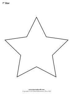 star shape templates  patterns star template
