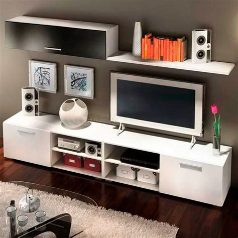 modular lcd rack panel tv moderno living fabrica baires