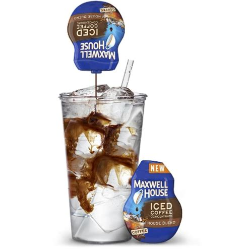 There is no unused product, grounds to clean up or dirty filters to throw away. Kraft Foods Group Maxwell House Iced Coffee Concentrate in ...