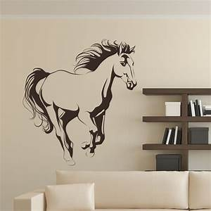 Horse wall decal images stickers