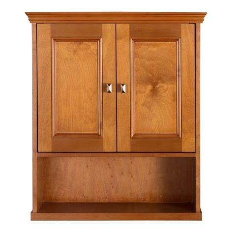 Home Depot Oak Bathroom Cabinet by Home Decorators Collection Exhibit 23 3 4 In W Bathroom