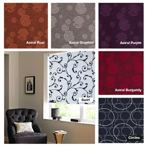 ideas patterned roller blind curtain ideas