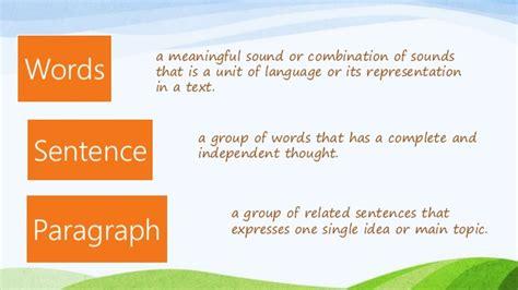 Sentence  Basic Sentence Structure