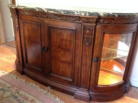 henredon buffet sideboard st laurent marble top palais