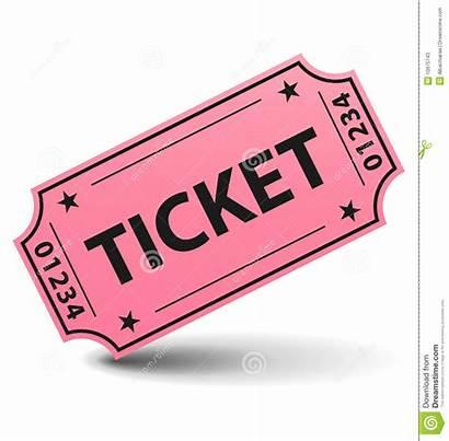 Ticket Rose Billet Yellow Karte Biglietto Kaartje