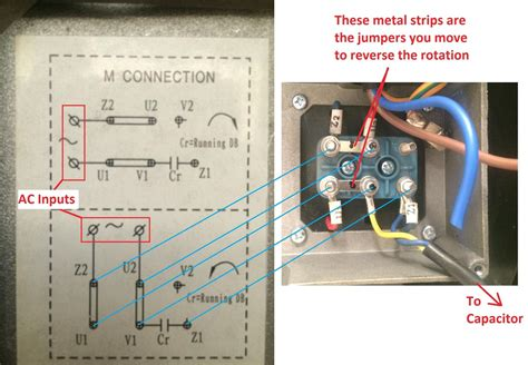 Wiring Diagram Single Phase Electric by Single Phase Motor Wiring Diagram With Capacitor Start