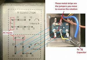 Single Phase Motor Wiring Diagram With Capacitor Wiring Diagram