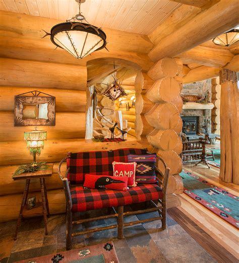 diy hanging outdoor bed diy log cabin decor living room rustic with armchair
