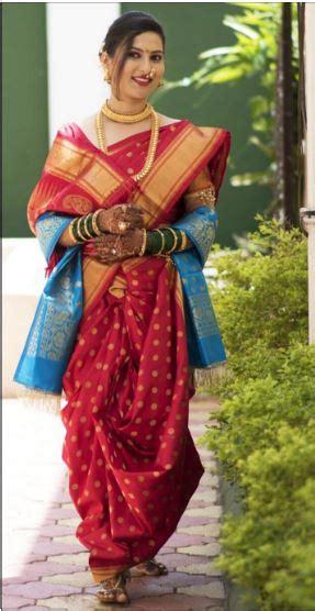 wear saree  marathi style saree guide