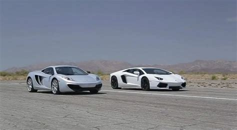 Mclaren Mp4-12c Vs Lamborghini Aventador Lp700-4