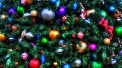 Christmas Tree Ornaments Holiday Wallpapers 1080p Background