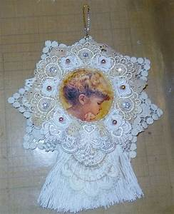 Shabby Chic Doily Wall Hanging