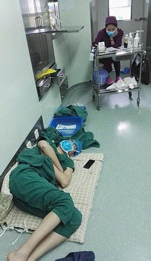 hero surgeon passes   hospital floor   hour shift