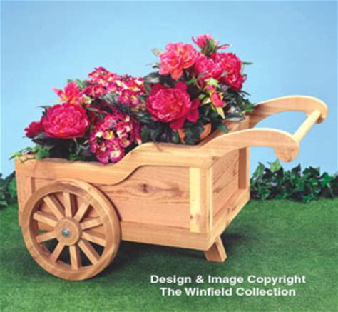 winfield collection peddlers cart planter plan
