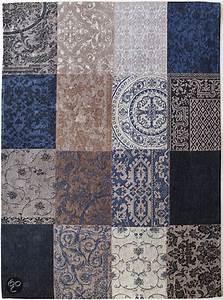 Teppich 240 X 240 : louis de poortere vintage vloerkleed kelim blue denim 8108 170x240 cm ~ Bigdaddyawards.com Haus und Dekorationen