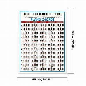 Tablature Piano Chord Practice Sticker 88 Key Beginner